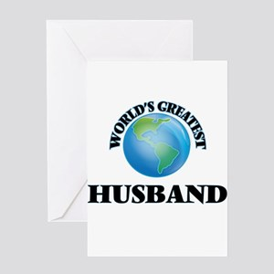 World's Greatest Husband Greeting Cards