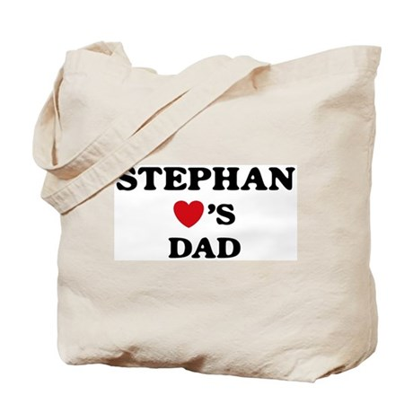 Stephan loves dad Tote Bag