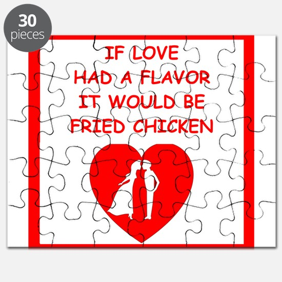 fried chicken lover Puzzle