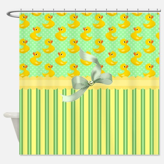 Rubber Ducky's Shower Curtain