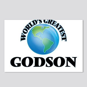 World's Greatest Godson Postcards (Package of 8)