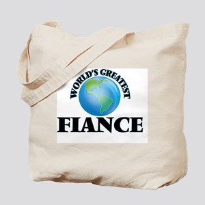 World's Greatest Fiance Tote Bag