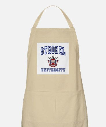 STROBEL University BBQ Apron