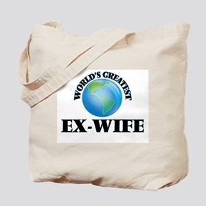 World's Greatest Ex-Wife Tote Bag
