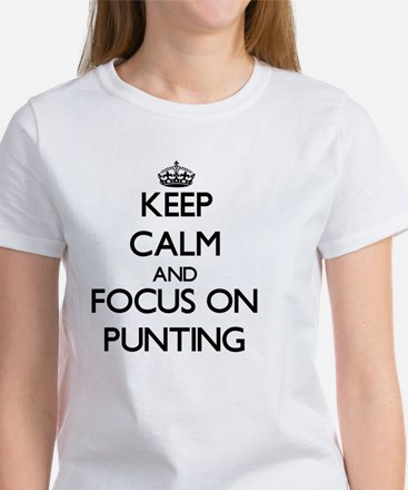Keep Calm and focus on Punting T-Shirt