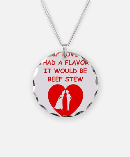 beef stew Necklace