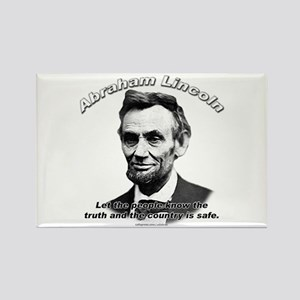 Abraham Lincoln 03 Rectangle Magnet
