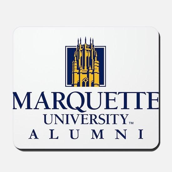 Marquette Golden Eagles Alumni Mousepad
