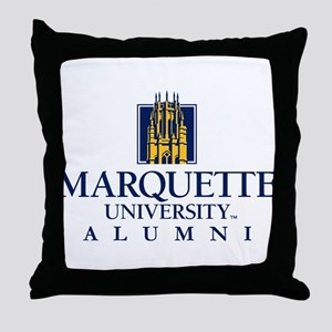 Marquette Golden Eagles Alumni Throw Pillow