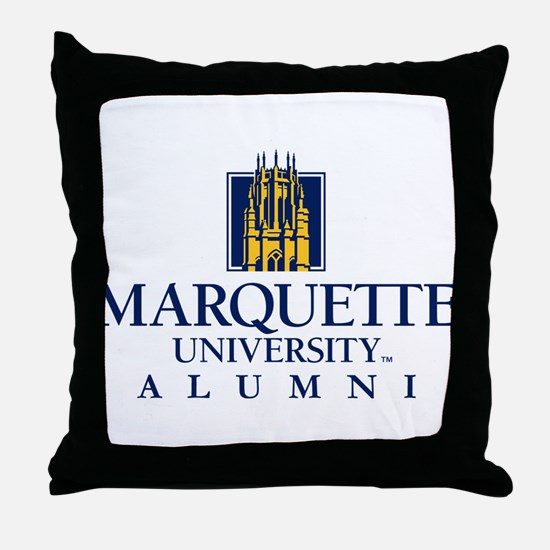 Marquette Golden Eagles Alumni Throw Pillow