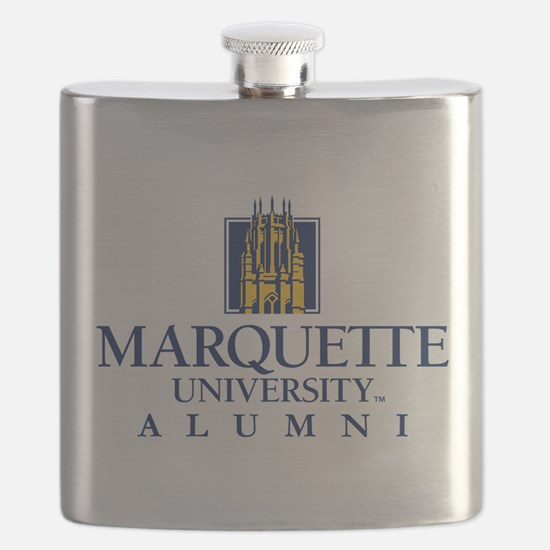 Marquette Golden Eagles Alumni Flask