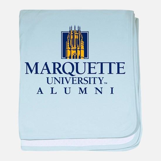 Marquette Golden Eagles Alumni baby blanket