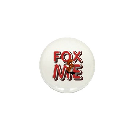 Fox Me Mini Button (100 pack)