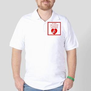 sour cream Golf Shirt