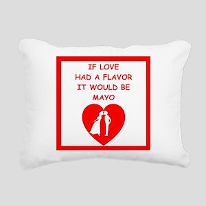 mayo Rectangular Canvas Pillow