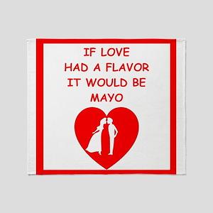 mayo Throw Blanket