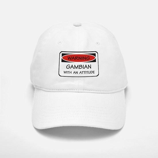 Attitude Gambian Baseball Baseball Cap