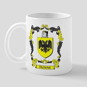 BROWNE 1 Coat of Arms Mug