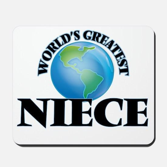World's Greatest Niece Mousepad