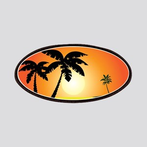 Tropical Sunset Patches