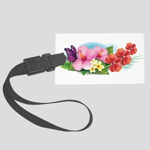 Tropical Banner Luggage Tag