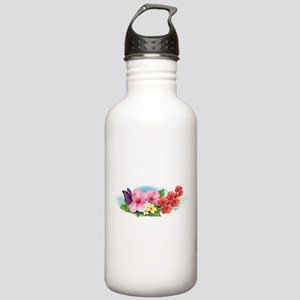 Tropical Banner Water Bottle