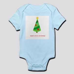 babyfirstchristmastree Body Suit