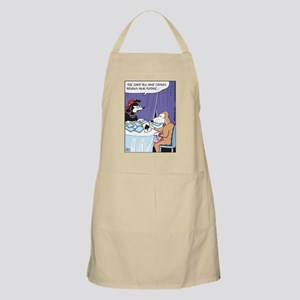 Cards predicts dog spaded BBQ Apron