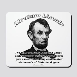 Abraham Lincoln 02 Mousepad