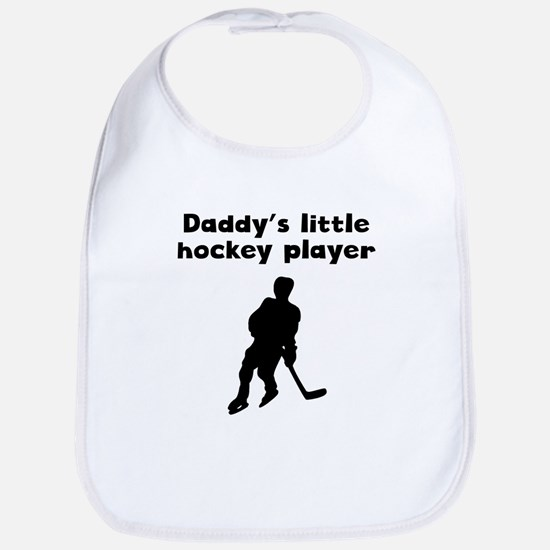 Daddys Little Hockey Player Bib