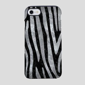 SKIN4 BLACK MARBLE & GRAY META iPhone 7 Tough Case