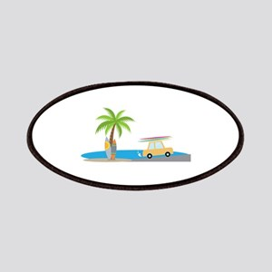 Surfer Beach Patches