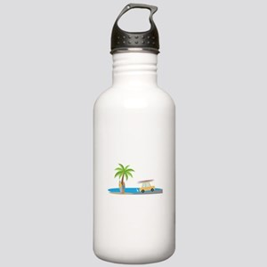 Surfer Beach Water Bottle