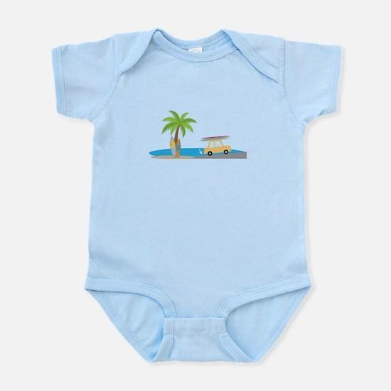 Surfer Beach Body Suit