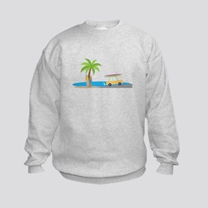 Surfer Beach Sweatshirt