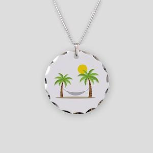 Hammock & Palms Necklace