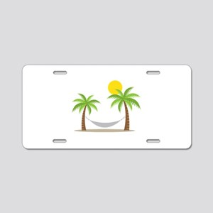 Hammock & Palms Aluminum License Plate