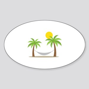 Hammock & Palms Sticker