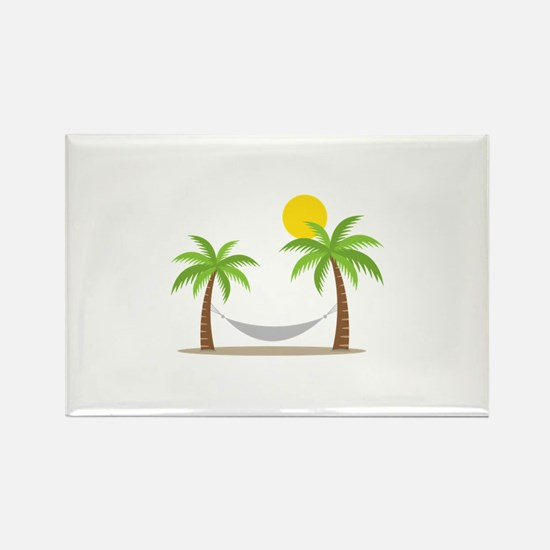 Hammock & Palms Magnets