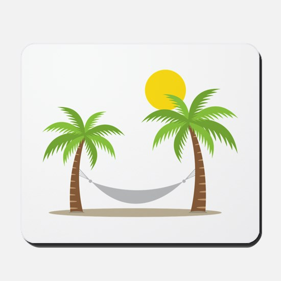 Hammock & Palms Mousepad