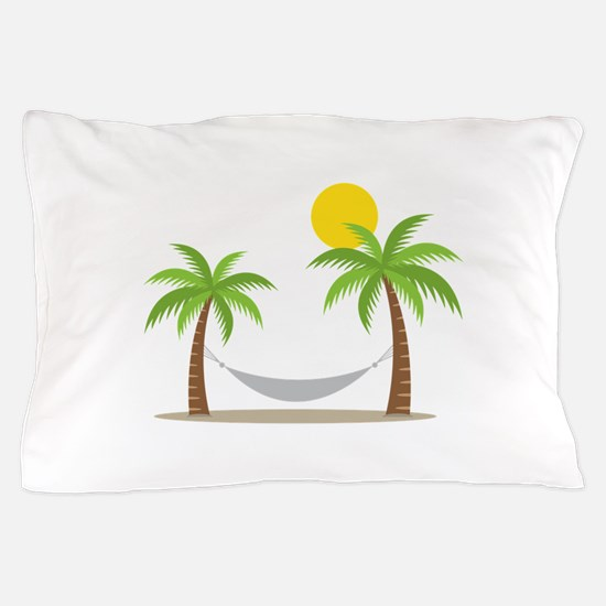 Hammock & Palms Pillow Case