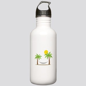 Hammock & Palms Water Bottle