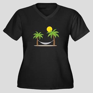 Hammock & Palms Plus Size T-Shirt