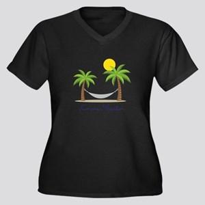 Summer Vacation Plus Size T-Shirt