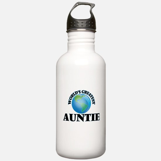 World's Greatest Aunti Water Bottle