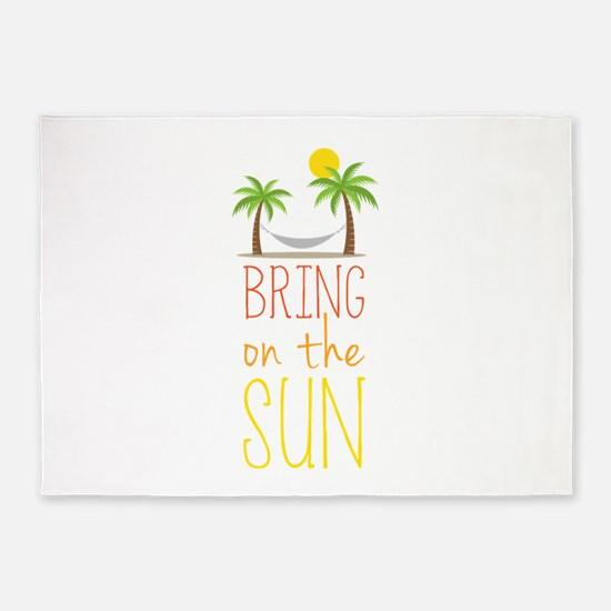 Bring on the Sun 5'x7'Area Rug