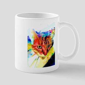 Multi-Colored Cat Mugs