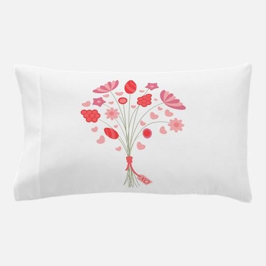 Valentine Bouquet Pillow Case