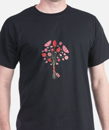 Valentine Bouquet T-Shirt