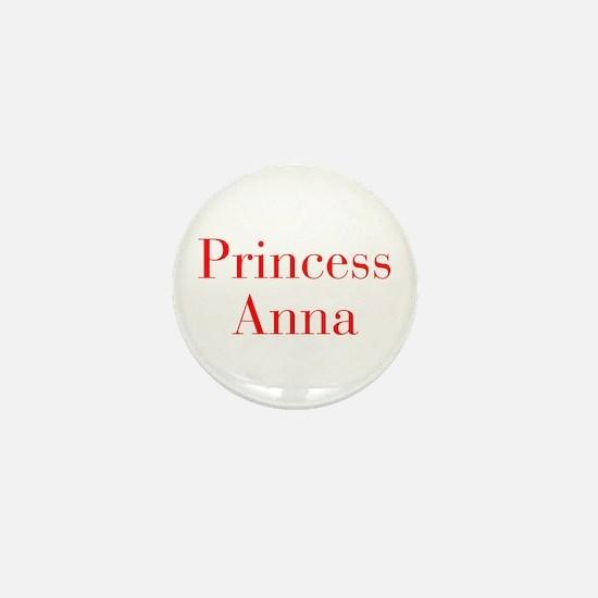 Princess Anna-bod red Mini Button